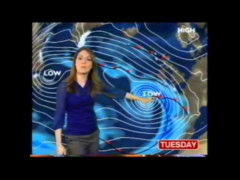 BBC Weather 10th January 2010