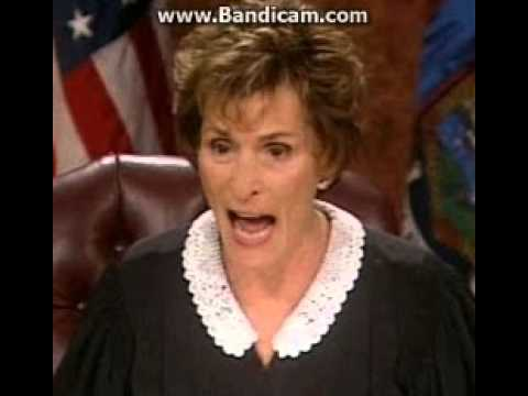 judge judy calls seniors and family members (soundboard)