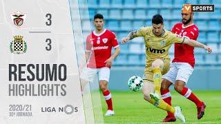Highlights   Resumo: Santa Clara 3-3 Boavista (Liga 20/21 #30)