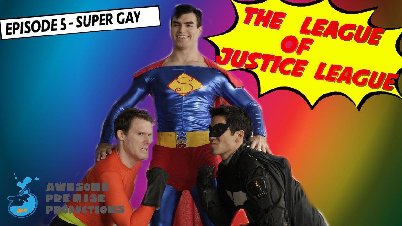 Justice league gay parody
