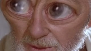 {Bushes of love YTP} - Luke accidentally stabs Obi-Wan Kenobi with a lightsaber