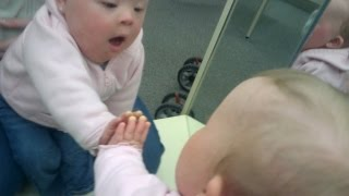 Babies and Mirrors First Time  [HD]