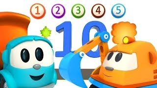 Sings with Leo - the numbers song 1-10. Learn Numbers 1-10.