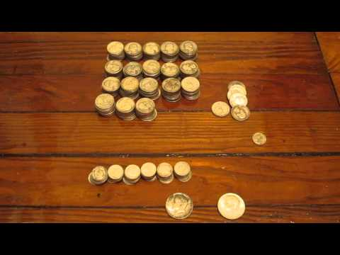 Silverpicker's US Junk Silver Coin Haul. Garage Sale Auctions #20