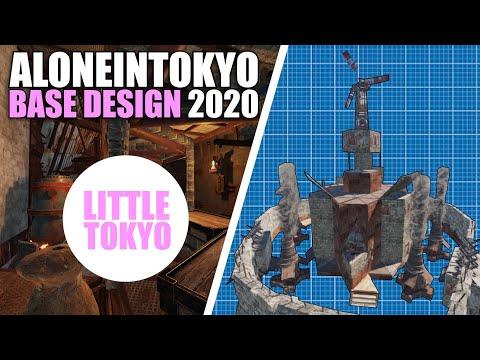 ALONEINTOKYO BASE DESIGN 2020 | (Little Tokyo) Base Build Tutorial