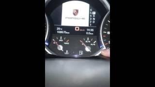 Reset inspection Porsche Cayenne Reset Service