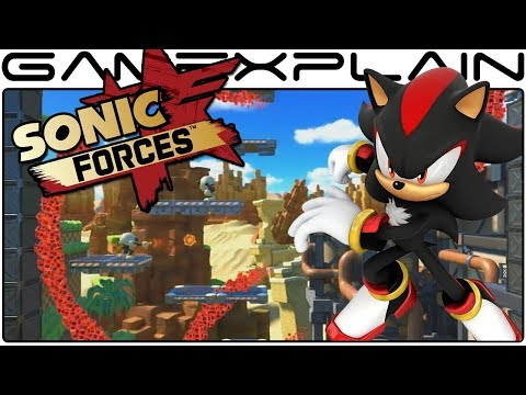 Free Shadow DLC Announced for Sonic Forces - Our Thoughts!