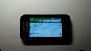 видео Не работает телефон Samsung GT-S5230