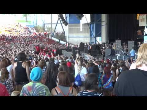Vans Warped Tour @ Marcus Amphitheater Milwaukee 7/30/14