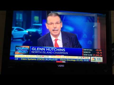 Glenn Hutchins clowned and owned by Joe Kernan on CNBC