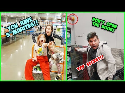 5 MINUTES TO SHOP IN COSTCO!! DON'T GO INSIDE THE TOP SECRET AREA!