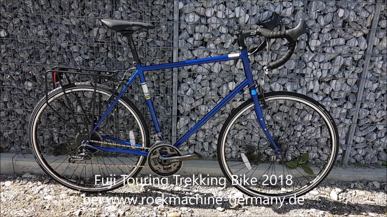 Fuji Touring Trekking Gravel Urban Bike 2018 Youtube