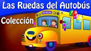 Las Ruedas del Autobús PARTE 1, PARTE 2 y muchas más Canciones Infantiles Populares | ChuChu TV
