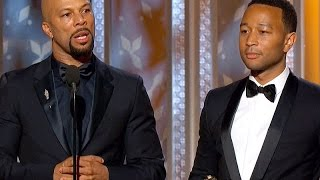 John Legend & Common Nail Political Oscars Speech