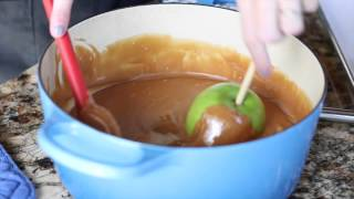 How To Dip A Caramel Apple