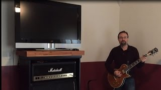 Amp Cabinet TV Stand