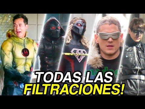 Tierra-X Flash, Citizen Cold, Overgirl y MUCHO MÁS! - The Flash Temporada 4 Crossover DCTV Earth-X!