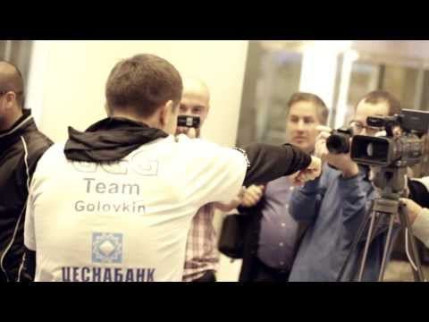 Gennady GGG Golovkin vs. Curtis Stevens, Media Workouts, October 30th 2013, New York City, USA