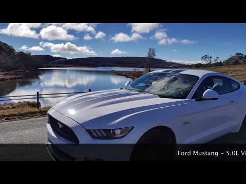 Great Ocean Road POV in Ford Mustang GT