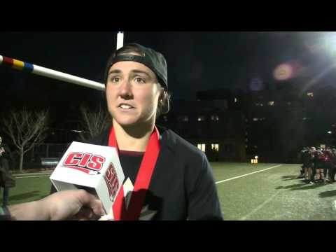 CIS Championship MVP - Cindy Nelles - Post Game Interview