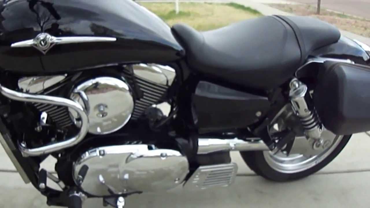 2007 kawasaki vulcan 1600 mean streak youtube. Black Bedroom Furniture Sets. Home Design Ideas