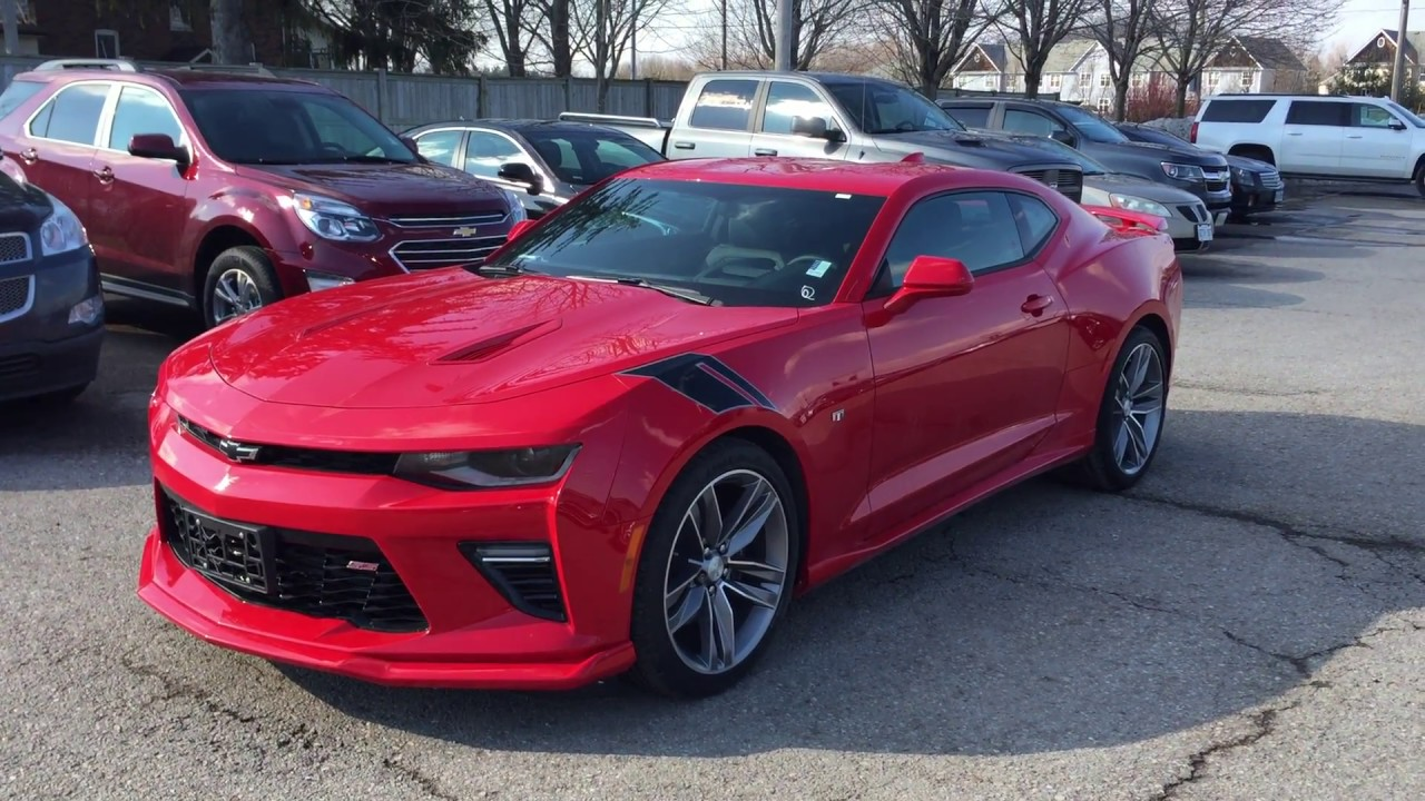 2017 Chevrolet Camaro 2dr Cpe Manual Ss Red Hot Roy Nichols Motors Courtice On
