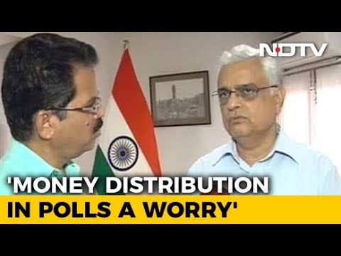 #ResultsWithNDTV: Money Distribution In Polls A Worry, Says Chief Election Commissioner