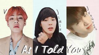 Video BTS V x Jimin x Jungkook - 'As I Told You' [2016 MBC Gayo Daejejeon] [Han|Rom|Eng lyrics] download MP3, 3GP, MP4, WEBM, AVI, FLV Juli 2018