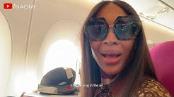 Naomi Campbell's Airport Routine | Come Fly With Me