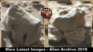 Mars Latest Images - Anomaly Archive 2018 - ArtAlienTV