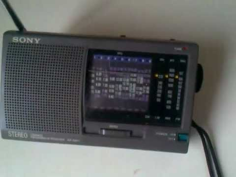 بي بي سي العربية  BBC arabic - radio sony icf-sw11