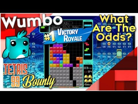 """Tetris 99 Bounty - """"What are the odds?"""""""