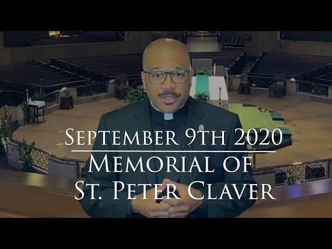 Memorial of St. Peter Claver