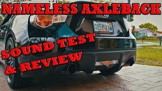 Subaru BRZ Nameless Performance Exhaust Review + Sound Test!