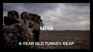6 Year Old Girl - Open Field Turkey Reap with Dad | S3 (Short Clip)
