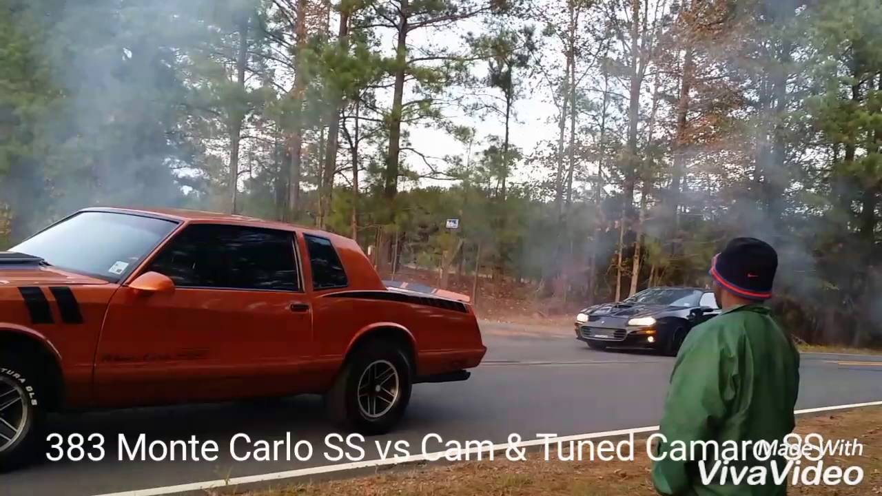 Monte Carlo SS vs Camaro SS