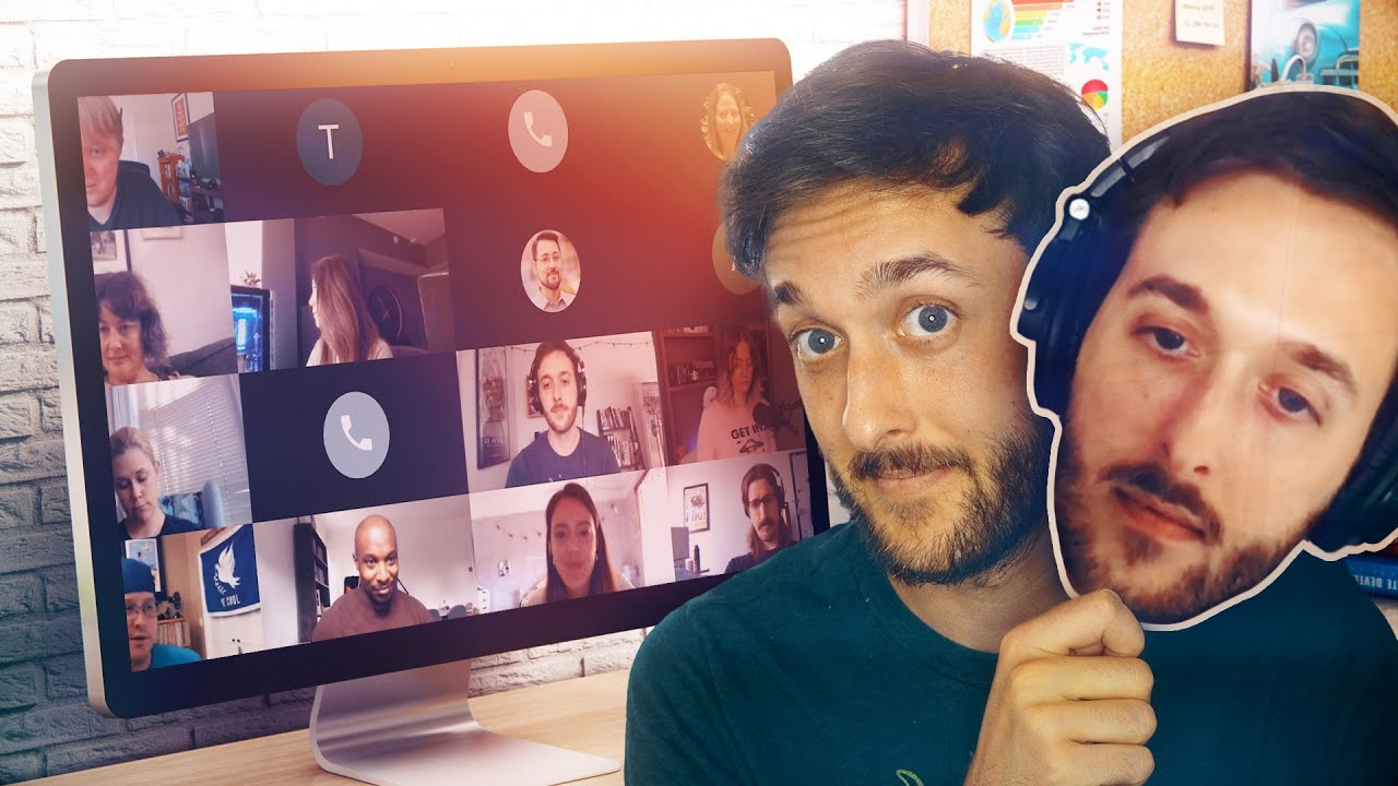 I prerecorded myself in video meetings for a week (and nobody knew) - CNET
