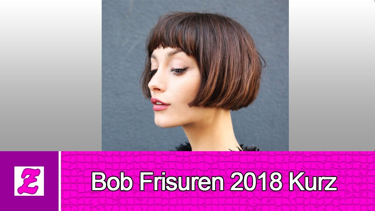 sch n bob frisuren 2018 kurz youtube. Black Bedroom Furniture Sets. Home Design Ideas