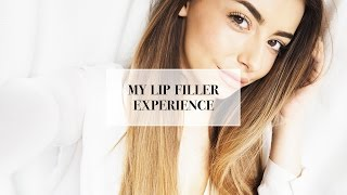 MY LIP / DERMAL FILLER EXPERIENCE (BEFORE & AFTER) | cocochic