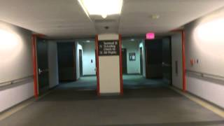 Mini tour of Houston Bush IAH Airport with 2 elevators for Jimmy Flygares