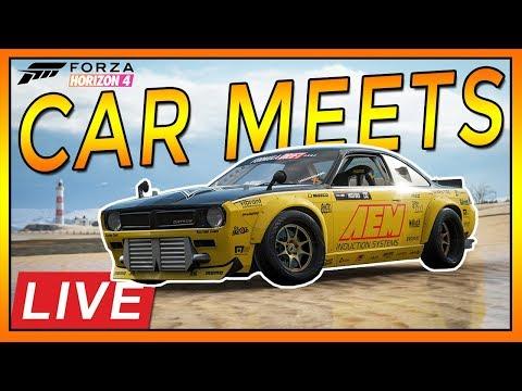 🔴[LIVE]Forza Horizon 4: Car Meets LIVE!! thumbnail