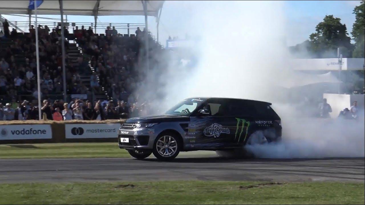 Best of Range Rover SVR 2020 (Drifts, Exhaust sounds, 2 wheel driving)