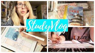 УЧИСЬ СО МНОЙ | ПРОДУКТИВНЫЙ ВЛОГ | Мотивация, учеба, планирование |