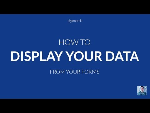 How to Display PHP Form Data