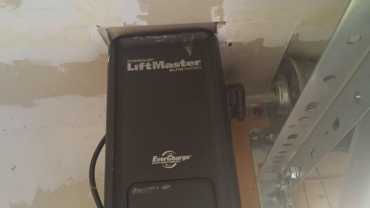 Review Of My Liftmaster Elite 8500 Garage Door Opener