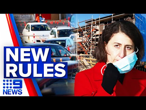 Confusion sweeps across Sydney after new restrictions introduced | Coronavirus | 9 News Australia