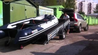 Универсальный прицеп для перевозки лодки ПВХ(, 2012-08-09T08:39:27.000Z)