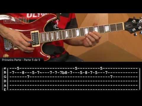Hino do Flamengo (aula de guitarra)