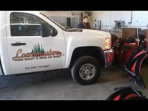 hook up western snow plow