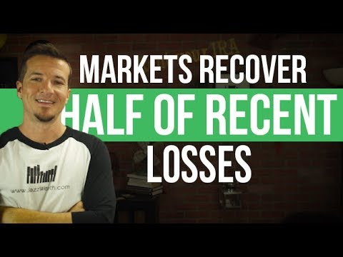 Markets recover almost half of last weeks losses.